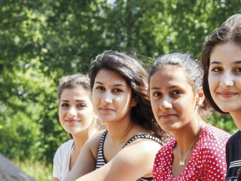 Tyttöjen kesälukiossa tilaa