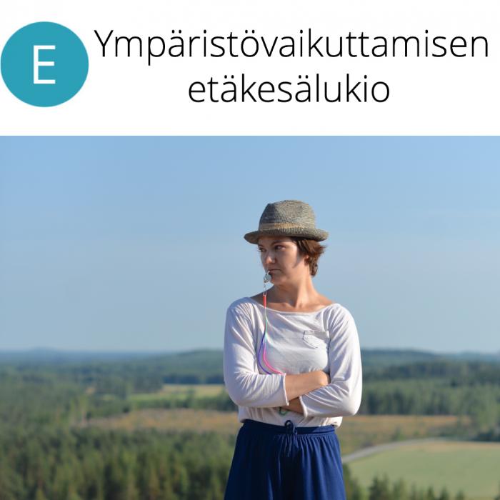 Ympäristövaikuttamisen etäkesälukio 28.6.–2.7.2021