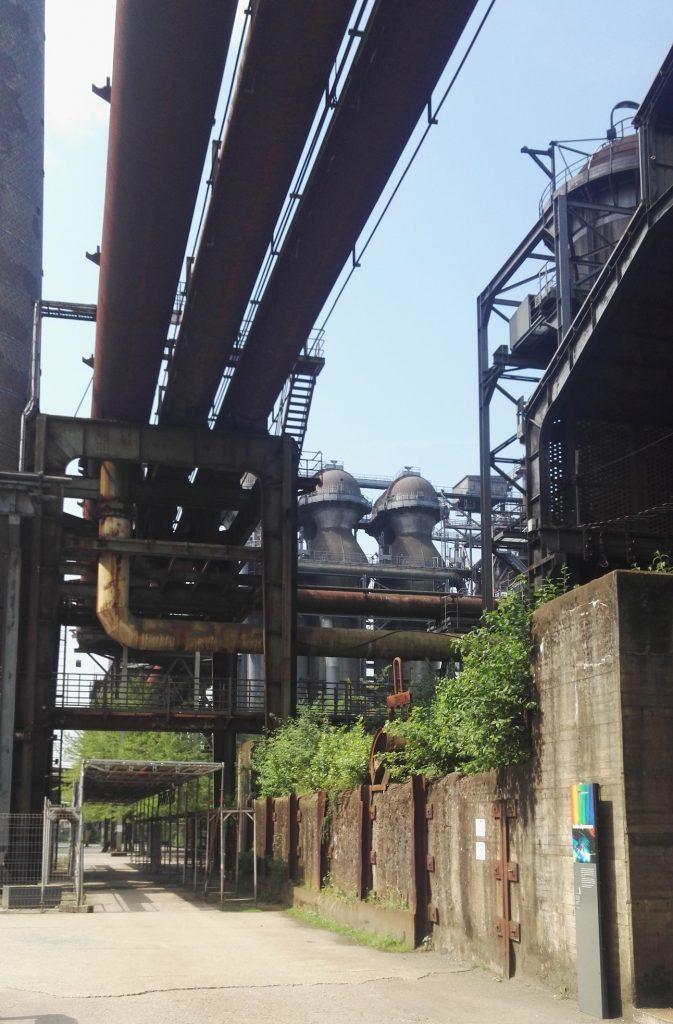 Saksan kesälukio - teollisuutta