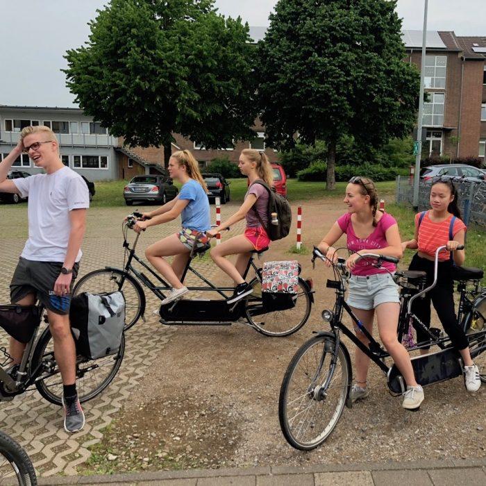 Saksan kesälukio - tandempyörät