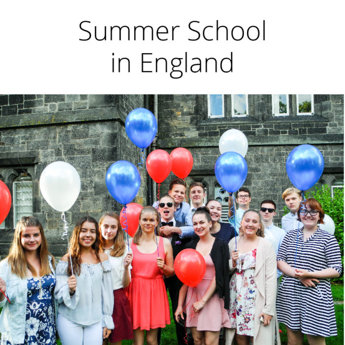 Summer School in England 20.–27.7.2019