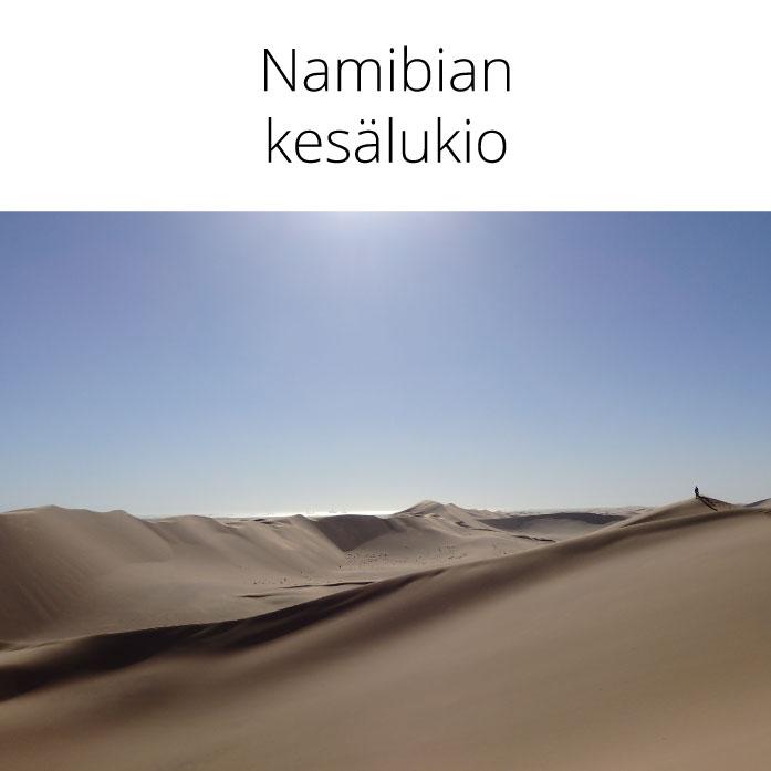 Namibian kesälukio 26.6.–11.7.2020