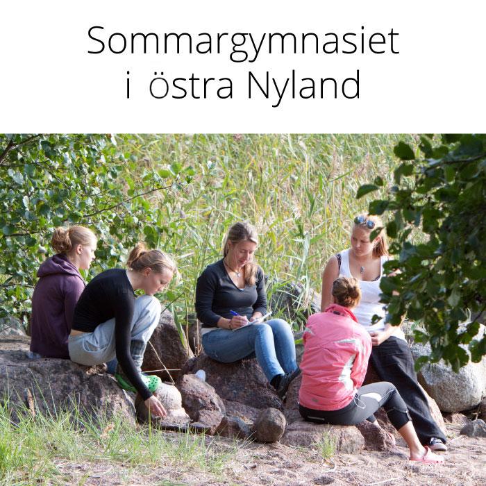 Sommargymnasiet i östra Nyland 26.7.–7.8.2021