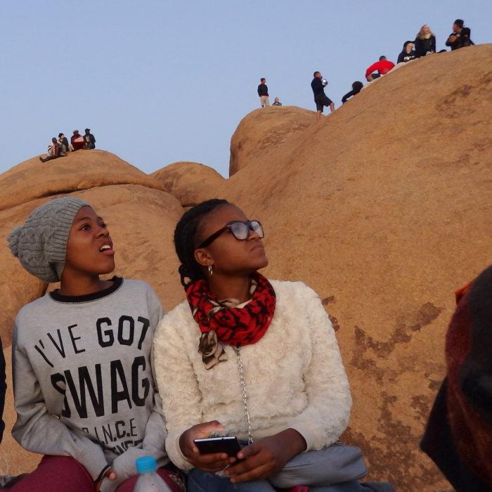 Namibian kesälukio: dyyneillä
