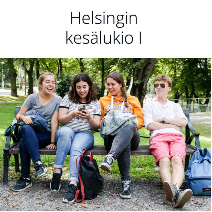 Helsingin kesälukio I 20.–31.7.2020
