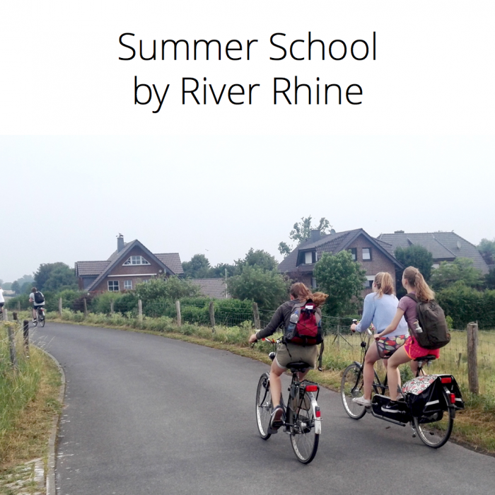 Summer School by River Rhine 14.–21.6.2021