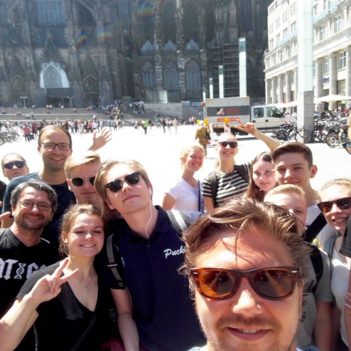 Saksan kesälukion ryhmäkuva