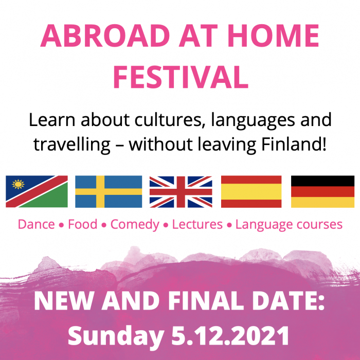Abroad at home Festival 5.12.2021