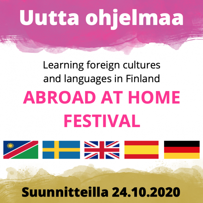 Abroad at home festival 24.10.2020