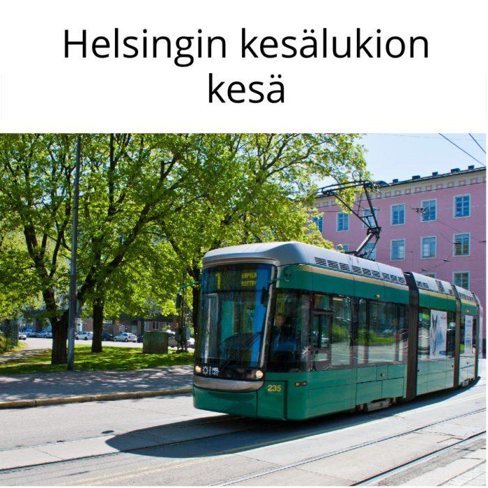 Helsingin kesälukion kesä 26.7.–6.8.2021