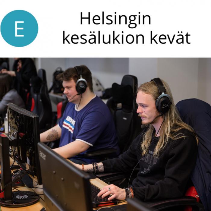 Helsingin kesälukion kevät 15.2.–18.3.2021